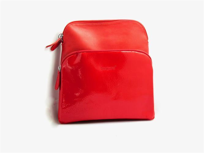 תיק גוף נוי אדום