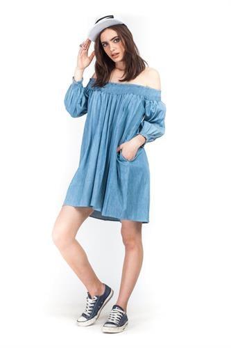 שמלת אלבינה ג'ינס