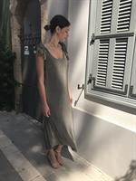 שמלת גלוריה זית