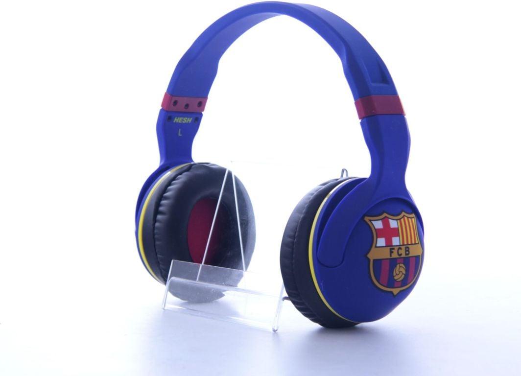אוזניות קשת עם מיקרופון SKULLCANDY HESH 2.0 FC BARCELONA
