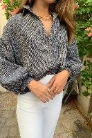 ג׳קט/ חולצת אינדיאנה וינטג׳