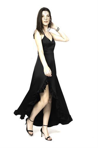 שמלת מורנה שחור