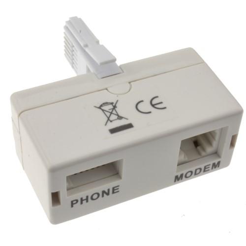 מתאם ADSL טלפון