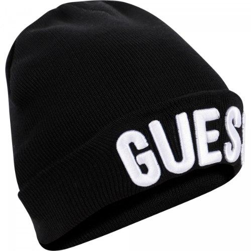 כובע GUESS שחור תינוקות - 0-24 חודשים