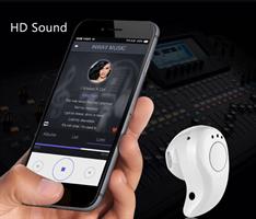 אוזניית Bluetooth אלחוטית נסתרת