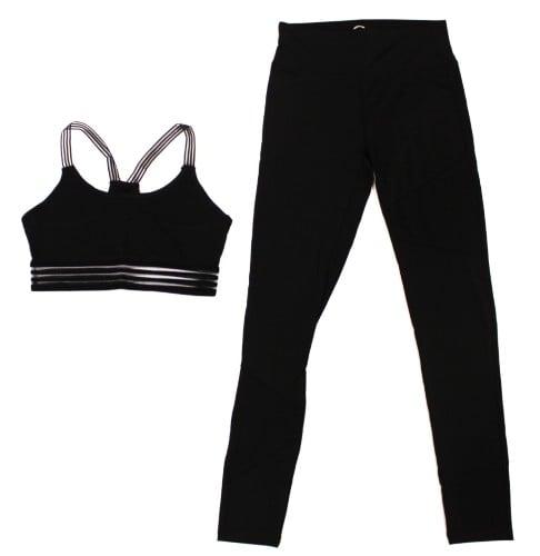 חליפת ספורט אקטיב שחורה