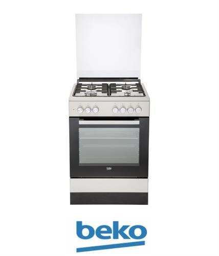 beko תנור משולב נירוסטה דגם FSE62120DXDSL