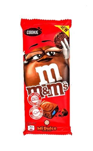 טבלת שוקולד m&m עוגיות