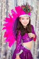 תחפושת רקדנית ברזילאית מפוארת