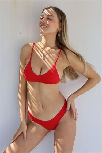 ביקיני ברזילאי RED - טופ קנדל / תחתון אמה