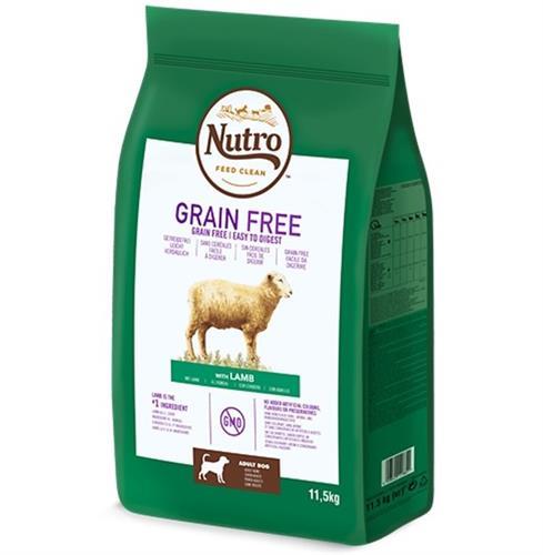 """NUTRO נוטרו כבש ללא דגנים 11.5 ק""""ג"""
