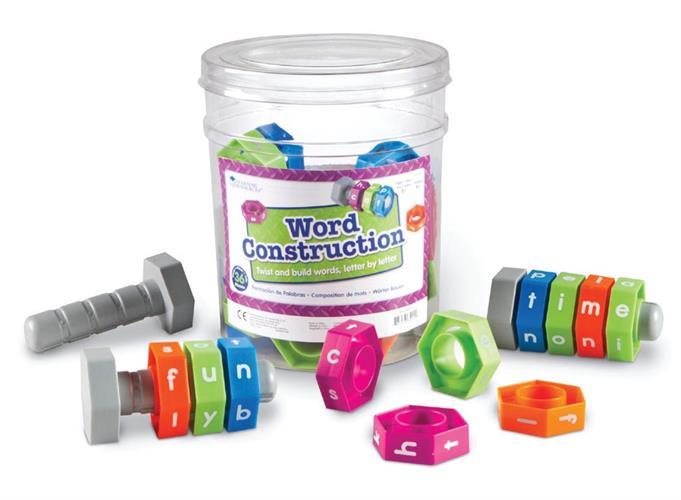 משחק Word Construction - מבריגים מילים באנגלית
