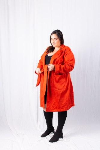 מעיל ג'ולי אדום