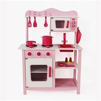 מטבח עץ לילדים ורוד דגם מטר W10C045