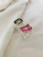 טבעת מישל חדשה כסף
