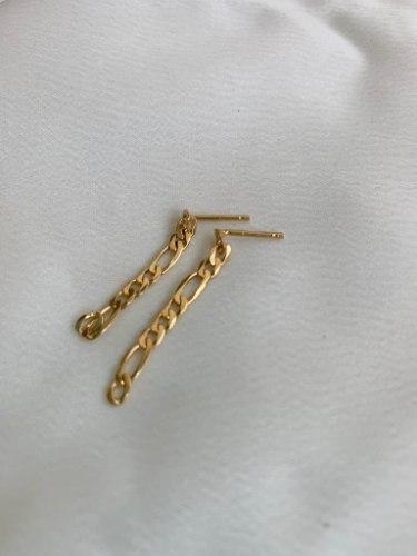 עגילי פיגרו זהב