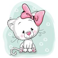 1 יח' טפט להדבקה על דלת כוורת (KALLAX)- חתול רקע ירוק