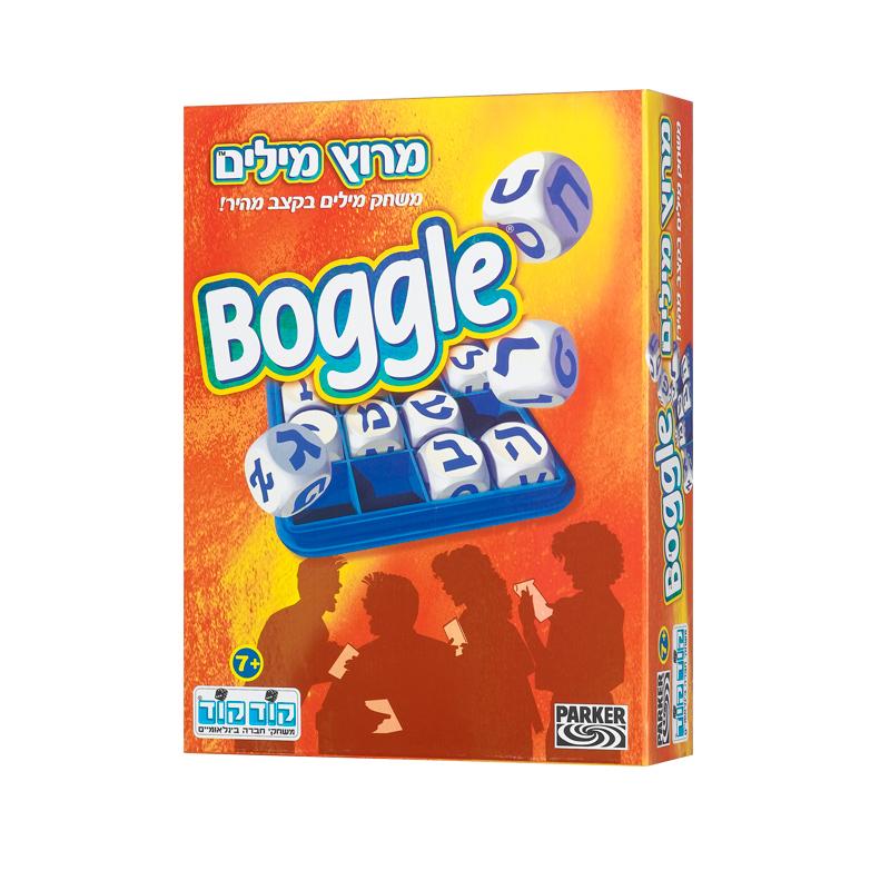 מרוץ מילים (BOGGLE) - משחק מילים בקצב מהיר