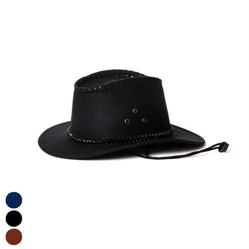 כובע קאובוי זמש לילדים