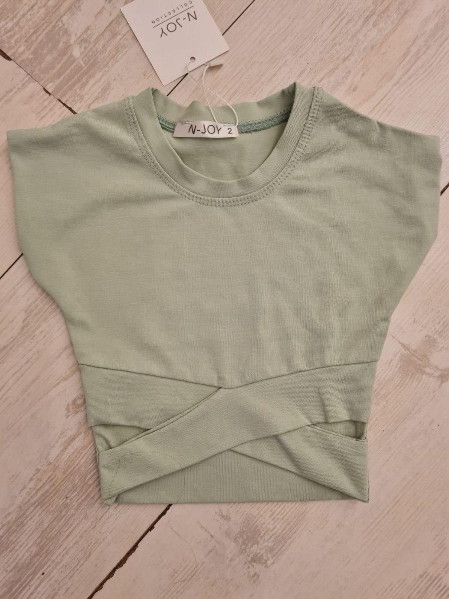חולצת X ירוקה