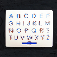 Studyboard  -לוח מגנטי ללימוד אנגלית / מספרים