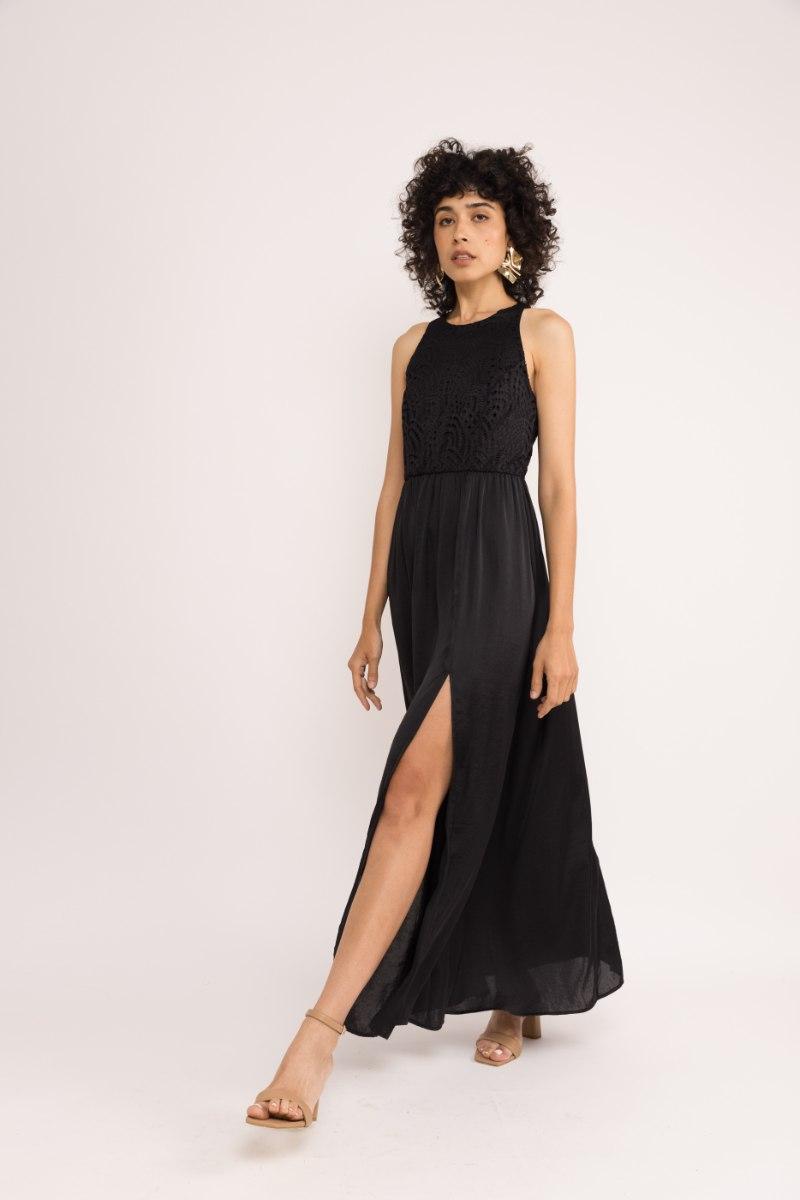 שמלת רומי - שחורה