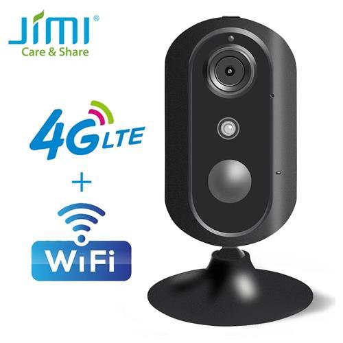 מצלמת אבטחה לרכב חיבור 4G עם אזעקת חיישן תנועה ושידור חי + כרטיס זכרון 32GB