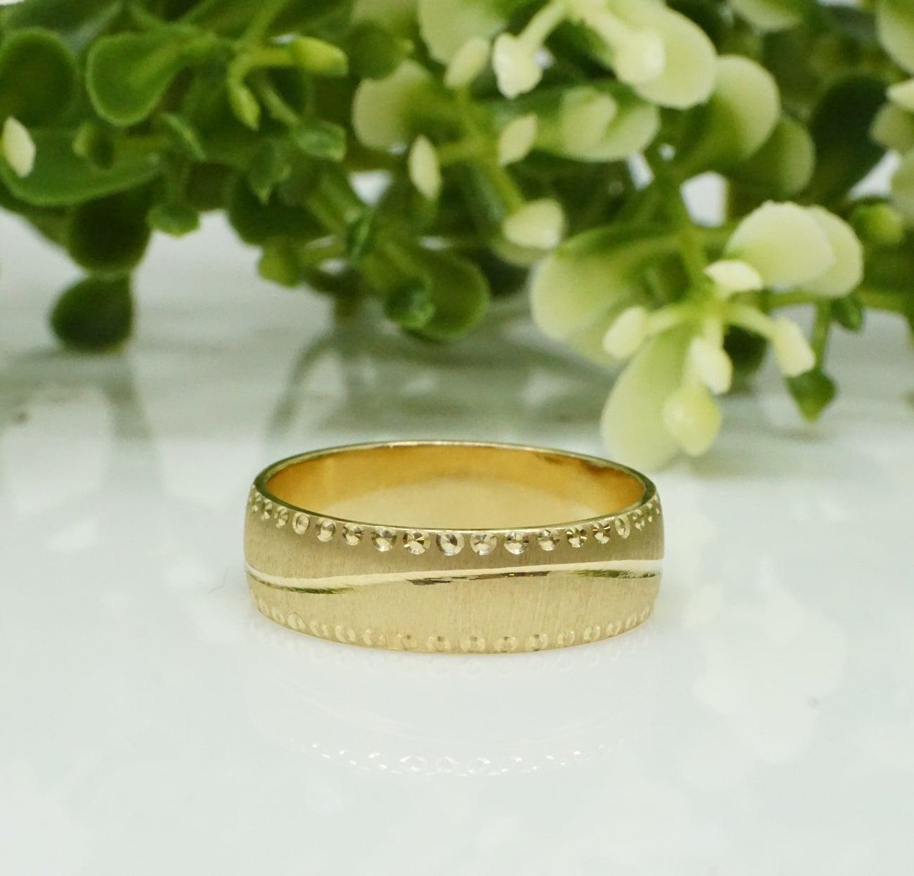 טבעת נישואין מעוצבת  - דגם M560