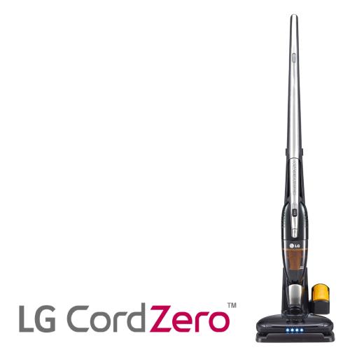 שואב אבק LG נטען 2 ב-1 CORD ZERO דגם: VS8400SCWC – כרום