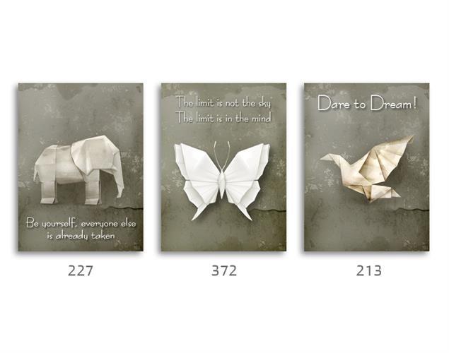 סט של 3 תמונות השראה מעוצבות לתינוקות, לסלון, חדר שינה, מטבח, ילדים - תמונות השראה 035