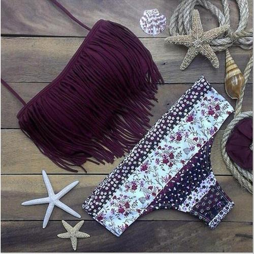 בגד ים ביקיני ברזילאי בעיצוב קייצי לוהט וסקסי