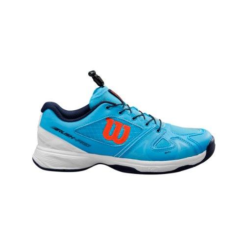 נעלי טניס ילדים  Wilson Junior Rush Pro QL Blue