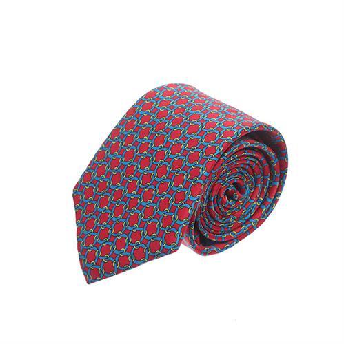 עניבה שרשראות אדום
