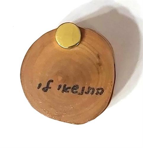 קופסה עץ זית לטבעת להצעת נישואין  MM013