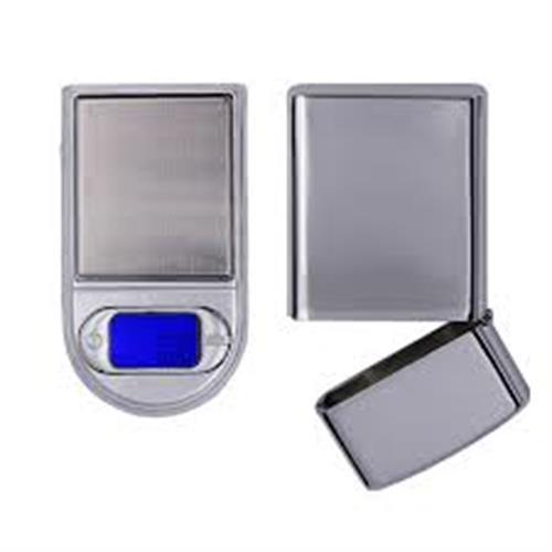משקל כיס דיגיטלי 0.01-100 גרם בקופסת מצית סיגריות