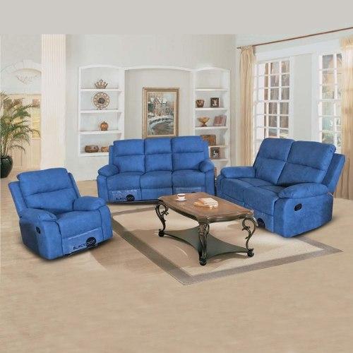 ספה 1+2+3 מושבים סיאסטה בד כחול