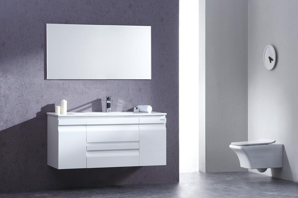 ארון אמבטיה תלוי בעיצוב נקי דגם לוסיה LOSIA