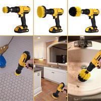 סט 3 מברשות מקצועיות לניקוי יסודי וחידוש רהיטים - Scrubber