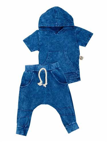 חליפת ג'ינס שקי כחול ORO