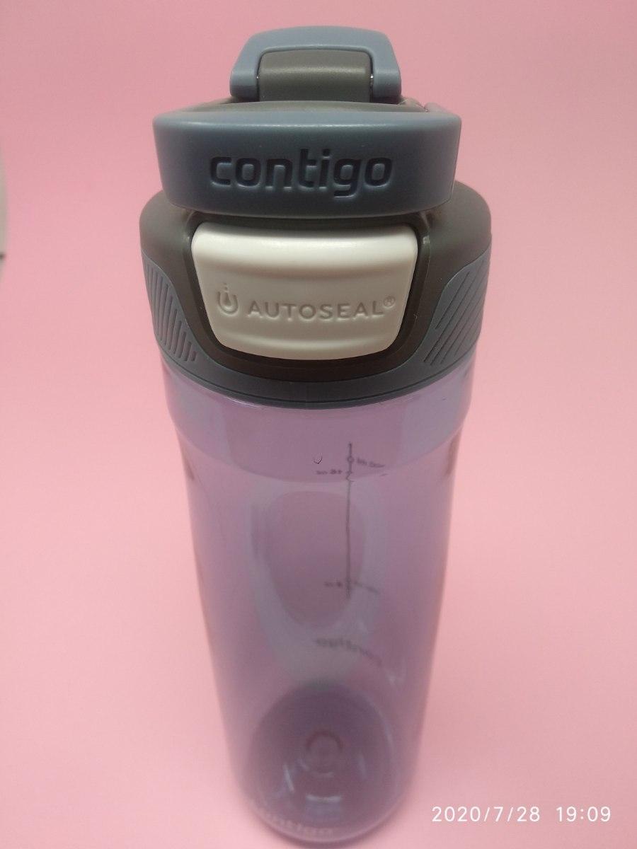 בקבוק שתיה בצבע סגול Contigo AUTOSEAL® Chug 720ml