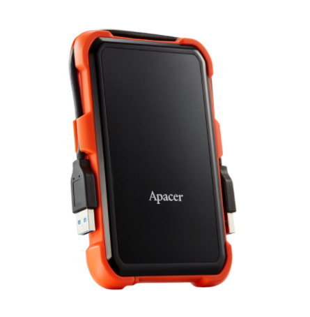 דיסק חיצוני Apacer 1TB AC620 Shockproof/Waterprrof