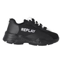 REPLAY נעל שחורה עם לבן מידות 21-39