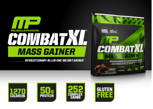 מבצע חבילה-MP COMBAT WHEY+GAINER XL KIT במחיר מוזל