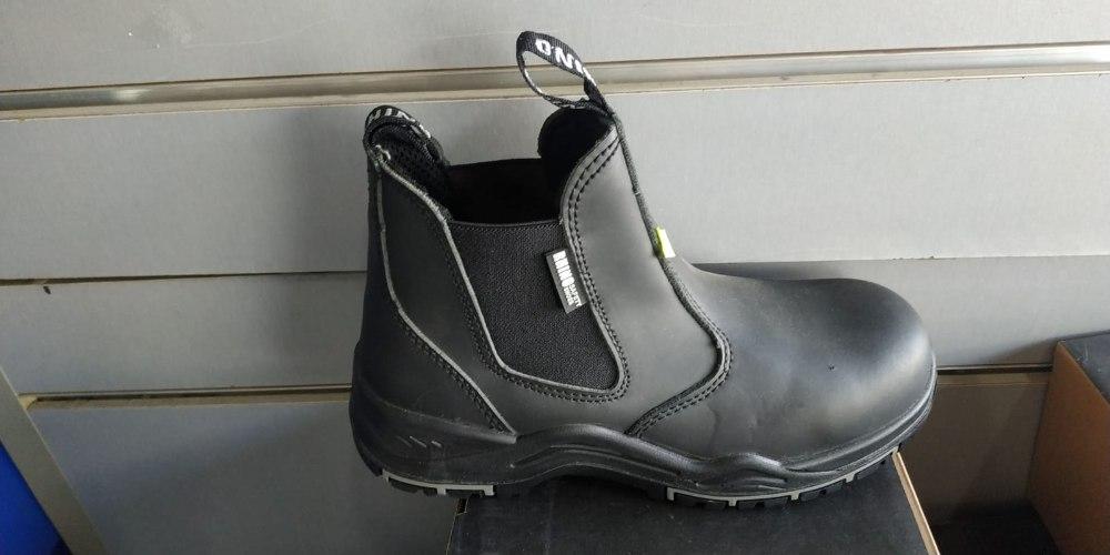 נעלי עבודה/מגף מגן ברזל של חברת רינו Rhino safety shoes