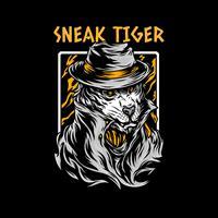 חולצת טי - Sneak Tiger