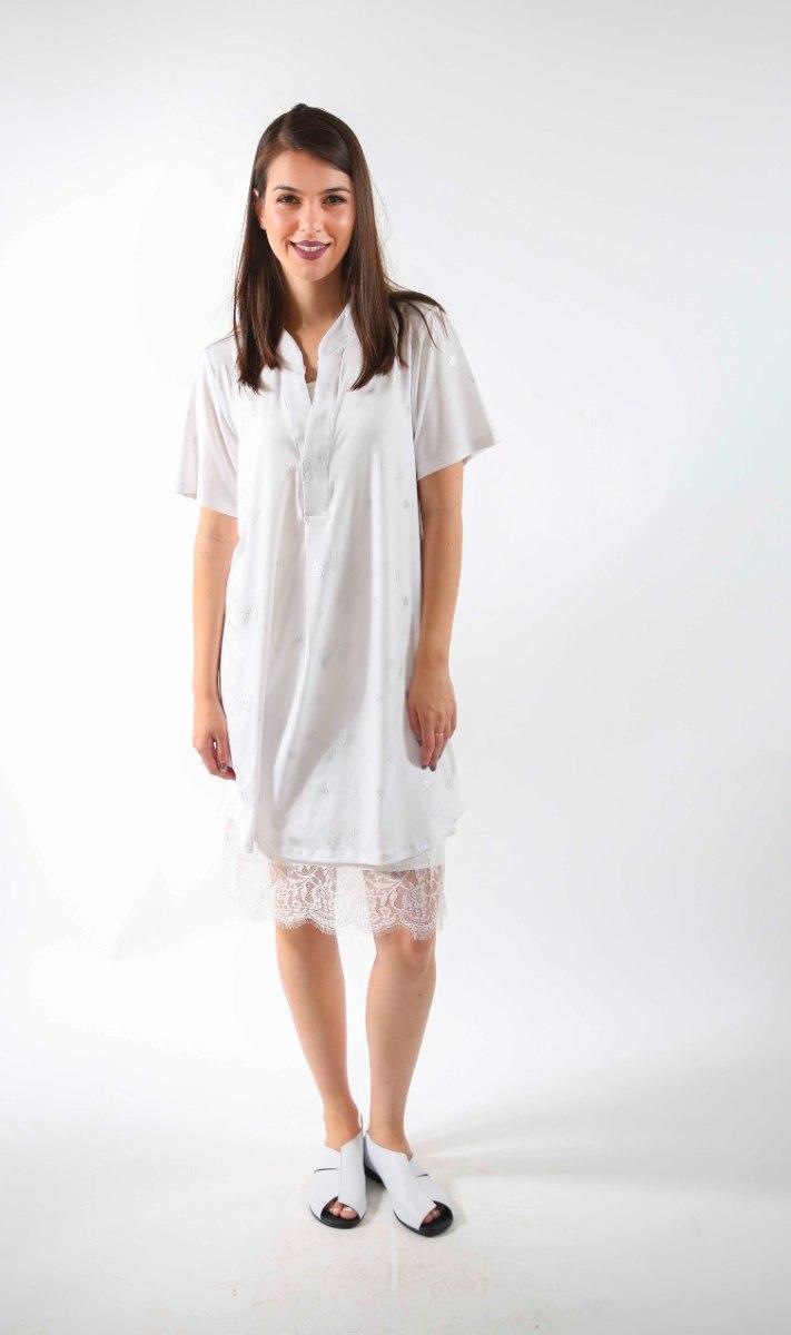 שמלת נרקיס לבנה