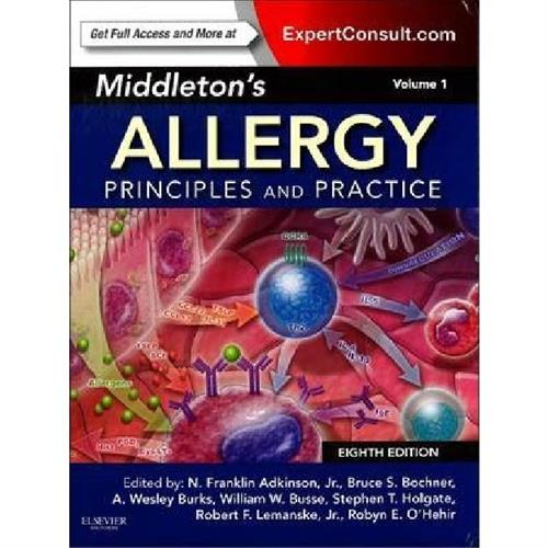 Middleton's Allergy 2-Volume Set : Principles and Practice (Expert Consult Premium Edition - Enhance