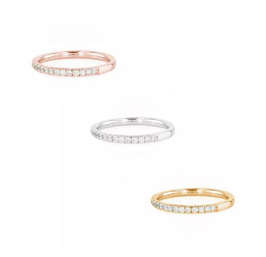 טבעת איטרניטי משובצת יהלומים