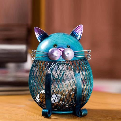 קופסת חסכון מעוצבת - חתול