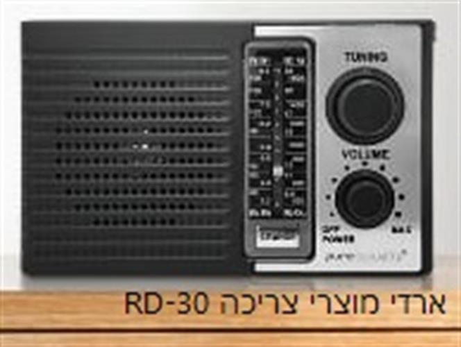רדיו נייד שולחני PURE ACOUSTICS RD-30 חשמל נטען